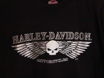 Harley Davidson Motor Cycles T Shirt~M~Cancun Mexico~Black Long Sleeve